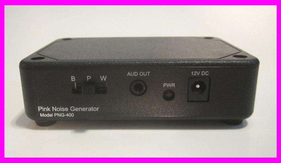 PNG-400 Analog Pink/White Noise Generator
